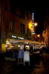 Hosteria (Toni Kaarttinen) Tags: city italien italy man rome roma men bar night dinner dark restaurant italia roman terrace rom italie lazio romo hosteria italio