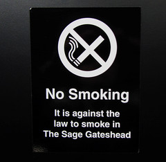No smoking (Leo Reynolds) Tags: sign canon iso100 is powershot 5mm signsafety 0sec f31 signno sx210 hpexif signnosmoking signcirclebar xleol30x