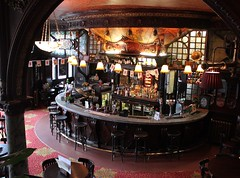 The Bar: Warrington Hotel ~ Warrington Crescent (curry15) Tags: london pub artnouveau maidavale publichouse w9 gradeiilisted randolphavenue mahoganybar thewarringtonhotel thewarrington 93warringtoncrescent