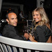 LA Galaxy's Landon Donovan and Kirsten Rich at Jordan Vineyard & Winery's 40th Anniversary Celebration, held on The London Hotel rooftop in West Hollywood, California, USA on Monday, April 23, 2012