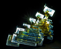 Bismuth.... (Proto1138) Tags: crystals quartz amorphous bismuth