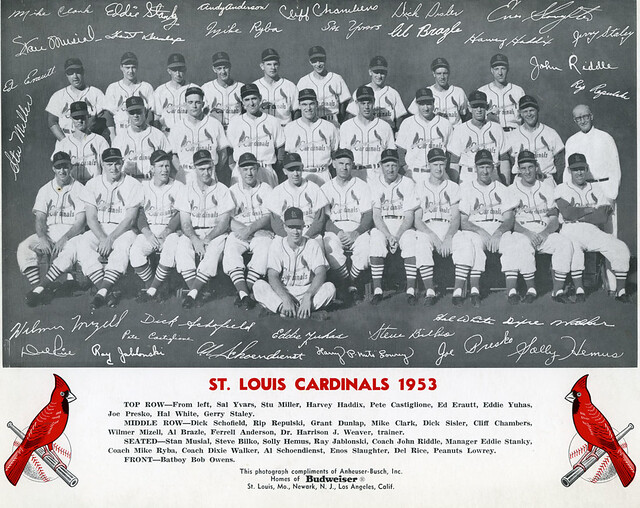 1953 St. Louis Cardinals