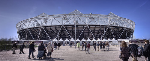 The Olympic Stadium - Stratford London