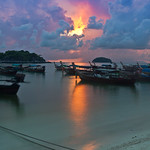 Sunrise in Koh Lipe