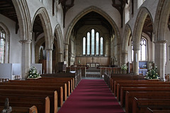 Thornham, Norfolk, All Saints (Tudor Barlow) Tags: england spring norfolk churches listedbuilding parishchurch thornham churchinteriors tamron1750 gradeilistedbuilding