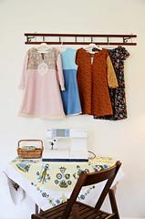 The Calico Prairie (LolaNova) Tags: girls kids vintage dress sewing calico prairie lolanova