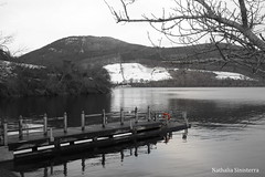 Loch ness , Scotland (Nathi.Adams) Tags: white black blanco lago scotland negro escocia loch alban ness yr schotland   albain skotsko