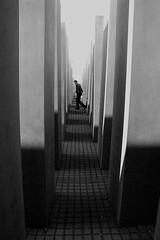 Holocaust Memorial Berlin (Stonebridge65) Tags: berlin germany holocaustmemorial happold artlegacy mygearandme mygearandmepremium mygearandmebronze rememberthatmomentlevel3 memorialtothemurderedjewseisenman