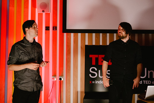 GlitchLich speaking at TEDxSussexUniversity 2012