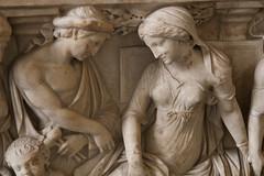 Medea's Myth - Detail II (Egisto Sani) Tags: jason berlin museum greek sarcophagus mito medea myth berlino altes sarcofago giasone medeia creusa glauce greekmyths mitigreci creonte