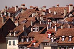 Altstadtdächer, Bern - Schweiz