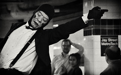 That Way | Subway Mime