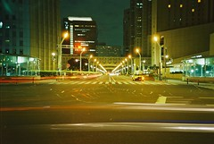 (Shoji Kawabata. a.k.a. strange_ojisan) Tags: film japan bulb night 35mm gold tokyo lomo lca lomography shinjuku shot kodak 400