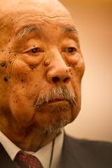 (Fesapo) Tags: old portrait man male japan canon lunch japanese prime lowlight dof bokeh formal indoors doctor elderly 7d shimane luncheon matsue sensei important   esteemed 135mmf2l shimanemedicaluniversity