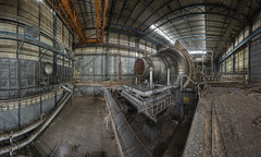 A large slice of Pye (odin's_raven) Tags: urban panorama pano exploring explorer 4 jet engine cell panoramic testing facility raven tu hdr ue odins pyestock cell4 talkurbex odinsraven
