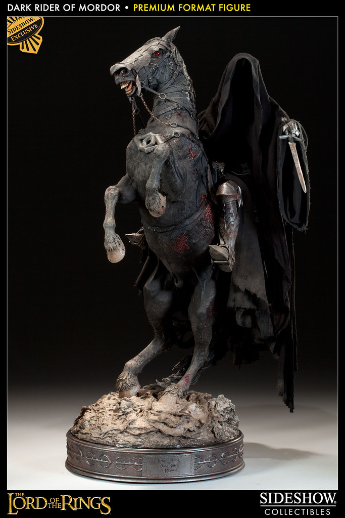 Sideshow - 魔戒:魔多黑騎士雕像