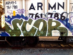 SCOR (UTap0ut) Tags: california ca street cali train graffiti mural paint pov tag style can spray letter graff aerosol freight scor