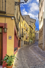 Street of Toledo (Explored) (Fil.ippo) Tags: street travel colors spain nikon strada toledo colori viaggi hdr filippo spagna d7000 filippobianchi