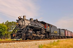 Southern 630 (esywlkr) Tags: railroad atlanta train georgia steam southern locomotive 630 forestpark hapeville 280 consolidation