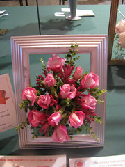 Roses in a photo frame