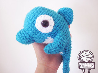Free Amigurumi Dolphin Pattern : Ravelry daddy and baby dolphin pattern by sweet n cute creations