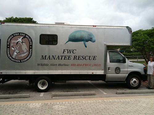 FWC Manatee Rescue Truck