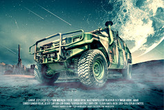 Ready for Space War (Imran Abdul Jabar) Tags: moon photoshop army jeep space military manipulation transportation malaysia humvee imran sifoo royalarmy sifoocom imranabduljabar