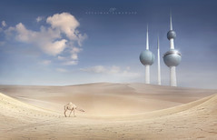 Desert (suliman almawash) Tags: photoshop sulaiman سليمان فوتوشوب آرت ديجيتال المواش almawash