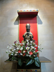 The black Madonna. (maggie jones.) Tags: london church statue 11 rc grade2listed