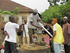 installing pump