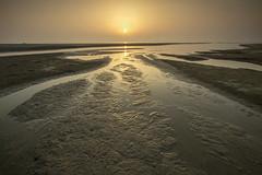 Facing East III (Azer Naudzer a.k.a PokYa) Tags: morning light reflection beach sunrise melawi