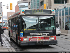 Toronto Transit Commission #7321 (vb5215's Transportation Gallery) Tags: new toronto flyer ttc 1999 transit commission d40lf
