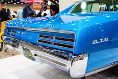 1967 Pontiac GTO (hz536n/George Thomas) Tags: winter summer copyright canon march michigan orphan canon5d pontiac gto carshow autorama smrgsbord 2014 cobohall ef1740mmf4lusm cs5