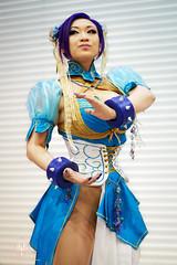 Chun Li Cosplay - Yaya Han @ LSCC 2014 (saroston) Tags: street girls sexy li video all fighter cosplay nintendo games we chun yaya say han capcom so