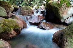 Curug Pangeran (Vicky Ming Alditiara) Tags: longexposure water stone bulb river indonesia waterfall nikon tokina1224 tokina slowshutter hdr bogor sungai pangeran curug d7000 curugpangeran