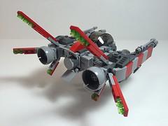 "Lego ""Kyte starfighter"" (vikingforhire) Tags: starwars lego scifi starfighter vicviper"