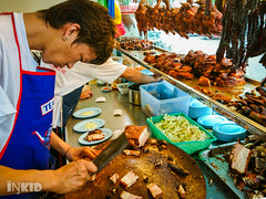 Sin Nam Huat Roasted Chicken & Duck Rice (inkid) Tags: people food chicken duck rice sony sin penang dual premium nam z5 roasted huat xperia