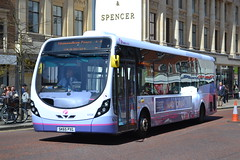 First Norwich 63326 SK65PXG (Will Swain) Tags: norwich 14th may 2016 bus buses transport travel uk britain vehicle vehicles county country england english south east city centre norfolk anglia first 63326 sk65pxg