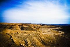 Hills & Valleys  ... The Mighty Desert (Hazem Hafez) Tags: sunset sun way sand desert hills harsh valleys
