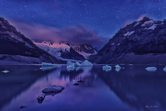 Blue Dream ( (Ping...) Tags: blue patagonia mountain reflection ice wow stars rocks stones ngc iceberg frozenlake floatingice patagoniaargentina cerrotorre losglaciaresnationalpark lagunatorre