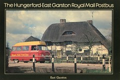 The Hungerford to East Garston Royal Mail Postbus . (AndrewHA's) Tags: bus post mail royal pb hungerford maidstone minibus commer rootes eastgarston puf899w