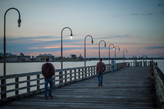 The Dock (Evan's Life Through The Lens) Tags: life camera blue friends light summer vacation sky orange color green glass beautiful field weather self vintage myself out lens drive long day bright bokeh weekend vibrant sony sunday sunny adventure clear explore about depth 2016 a7s