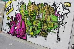 Rige_2236 rue des Trois Couronnes Paris 11 (meuh1246) Tags: streetart paris chat casquette animaux paris11 rige ruedestroiscouronnes
