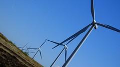 farming the winds 08 (byronv2) Tags: scotland technology glasgow siemens engineering science electricity turbine windturbine windfarm windpower glasgowsciencecentre renewableenergy greenenergy renewables eaglesham powergeneration scottishpower eagleshammoor whiteleewindfarm eastrefrewshire