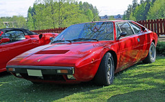 1974 Ferrari 308 GT4 (crusaderstgeorge) Tags: red cars 1974 italian sweden ferrari classiccars sportscars gt4 308 redcars carmeet lvkarleby ferrarired 1974ferrari308gt4
