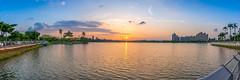 Cheng Cing Lake() (EddieLin617) Tags: city sunset lake ngc taiwan kaohsiung     cheng   cling