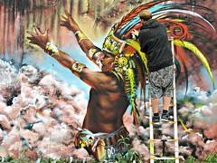 Jim Vision (8333696) Tags: street city urban streetart art festival photography photo birmingham mural paint artist factory colours jim spray urbanart vision spraypaint custard aerosol graffit graffitiartist 2016 digbeth graffitart cityofcolours