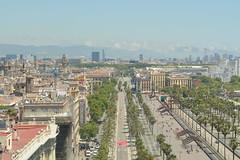 Barcelona (javiercbugarin) Tags: barcelona summer de puerto holidays view vistas mirador coln martimo