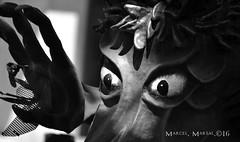 Mirades profundes (Marcel Marsal) Tags: ca primavera major culture bn catalunya popular festa mirada blanc cultura negre torrent ulls occidental terrassa bitxo 2016 valls bestiari cercavila mirades passi naurell mitger profundes