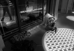 Germany Has Took (Wormsmeat) Tags: london londonstreetphotography thestrand breakfast lunch dinner panasonic dmcgm5 street art